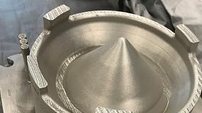 Foto de GE recibe la calificación de aeronavegabilidad para la primera pieza crítica metálica impresa en 3D de un motor a reacción