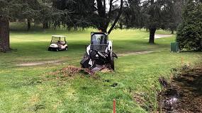 """Foto de Destoconador Bobcat SG60, la solución """"más eficaz"""" en el Real Club de Golf de La Coruña"""