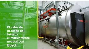 Foto de Bosch inicia su camino hacia la descarbonización del mercado de la calefacción industrial
