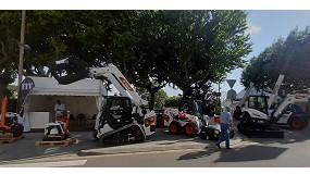 Foto de Bobcat presenta por primera vez en España su nueva excavadora y cargadora de cadenas