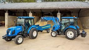 Foto de New Holland actualiza el motor de los tractores Boomer (24-57 CV)