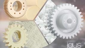 Foto de Impresos, mecanizados y ahora también inyectados: engranajes plásticos resistentes al desgaste de Igus