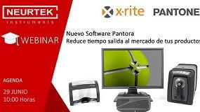 Foto de Neurtek organiza junto a X-Rite un webinar sobre la nueva aplicación Pantora
