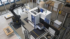 Foto de Ya es posible conectar robots en las máquinas básicas de Homag