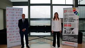 Foto de La secretaria de Estado de Energía visita las instalaciones del DFactory Barcelona en la Zona Franca