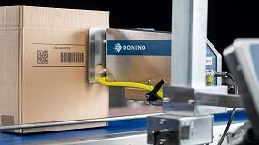 Foto de Domino presenta su nueva solución inkjet, Cx350i, para la impresión del embalaje secundario