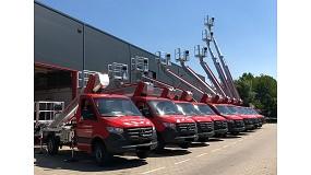 Foto de La empresa alemana Roggermaier recibe diez plataformas Multitel Pagliero