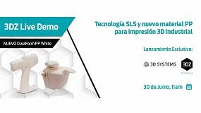 Foto de 3DZ organiza una demostración en vivo sobre la tecnología SLS y el nuevo material PP para impresión 3D industrial