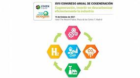 Foto de Cogen y Acogen organizan el XVII Congreso Anual de Cogeneración