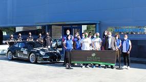 Foto de La escudería Vallejo Racing visita Clickfer