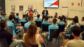 Foto de Machining meets Cycling visita a su promotor en la Comunidad de Madrid