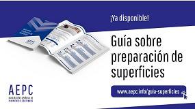 Foto de Ya está disponible la Guía sobre preparación de superficies de AEPC
