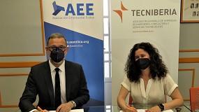 Foto de Convenio de colaboración entre Tecniberia y AEE para impulsar la proyección de empresas españolas en el ámbito de la energía eólica