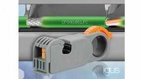Foto de El cable FastConnect de Igus reduce el tiempo de confección en un 46%