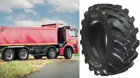 Foto de BKT estrena el neumático Multimax MP 569 para camiones agrícolas de uso mixto