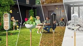 Foto de ClickUp!, la línea de accesorios intercambiables de Gardena para la decoración del jardín