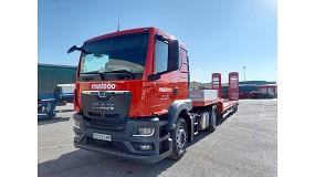 Foto de Mateco potencia su servicio logístico ampliando su flota de camiones