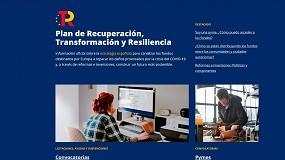 Foto de El Gobierno crea una web específica sobre los fondos del Plan de Recuperación, Transformación y Resiliencia