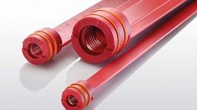 Foto de Las barras de deflexión Hasco permiten un enfriamiento eficiente