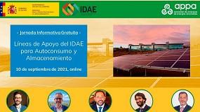 Foto de Jornada informativa: 'Líneas de apoyo del Idae para autoconsumo y almacenamiento'