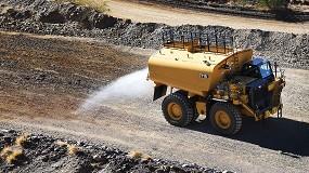 Foto de El nuevo camión Cat 777G Water Solutions ofrece una forma más inteligente y sostenible de regar las minas y canteras