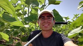 Foto de Entrevista a Antonio Manuel Conde, agricultor e ingeniero agrónomo
