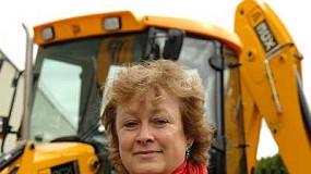 Fotografia de Brunhilde Rygiert, nova directora general de JCB Maquinària