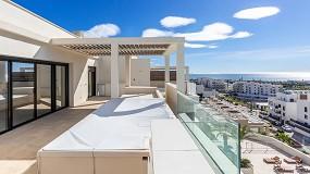 Foto de Technal en el complejo residencial Jardinana, en la Costa del Sol