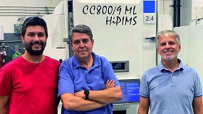 Foto de Entrevista a Carles Colominas, Francesc Montalà y Víctor Cot, del equipo directivo de Flubetech