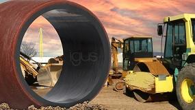 Foto de Los cojinetes de Igus optimizados tribológicamente reducen el desgaste en entornos duros