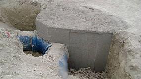 Foto de Anclajes para uniones de accesorios en canalizaciones de fundición dúctil