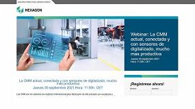 Foto de Nuevo webinar de Hexagon: 'La MMC conectada y con sensores de digitalizado, mucho más productiva'