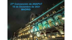 Foto de Anapat celebrará su 27ª Convención y cena de Navidad el próximo 15 de diciembre
