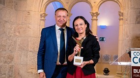 Foto de Pilar Budí recibe el premio Manuel Laguna 2021 de Conaif