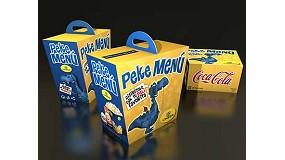 Fotografia de Trixi Box Catering i l'expositor Repavar, els 'Best in Show' dels premis Líderpack 2009