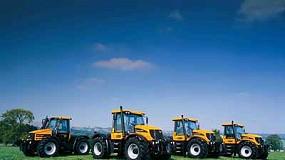 Fotografia de JCB Maquinària porta una mostra de la seva àmplia gamma agrícola a Fima 2010