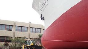 Fotografia de Astica adquireix una pala carregadora JCB 456ZX per a tasques d'empenta i remolc de vaixells