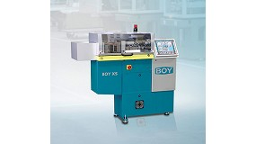 Picture of 'Big machines - compact design', Boy slogan in the K 2010