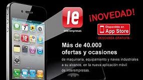 Foto de Interempresas presenta una aplicación para buscar maquinaria de ocasión en el iPhone