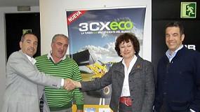 Fotografia de JCB confia en el grup Lomaq com a distribuïdor per a Aragó i Sòria