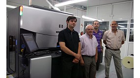 Picture of Satergraf improve their business opportunities with a second HP Indigo digital press