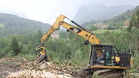 Fotografia de Biofonor adquireix una excavadora CAT 323DLN �Special Alpine� per a tasques forestals