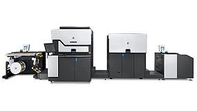 Picture of HP Launches his digital press of labels more versatile and productive