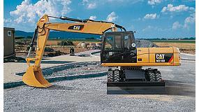 Fotografia de Manyaga en el disseny i la comoditat en les excavadores de rodes M300D de Caterpillar