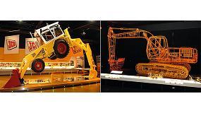 Fotografia de JCB va inaugurar l'exposició 'Historia de JCB' en el marc d'Agromotion 2011