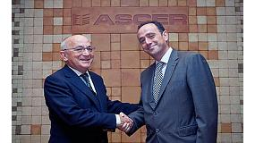 Picture of Endesa and Ascer renew his agreement of electrical supply in the azulejo