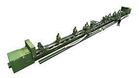 Fotografia de Goratu fabrica un equip de 28 m de longitud amb CNC Fagor per al sector naval