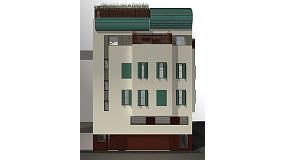 "Fotografia de Edifici de classe energètica ""A"" amb Etics de Knauf Insulation"