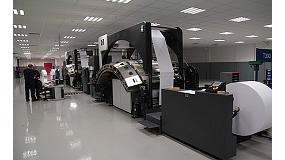 Picture of HP Installs 60 systems Inkjet Web Presses with which print  more than 10.000 million pages