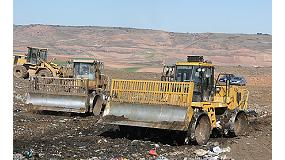 Fotografia de Equips Caterpillar per al tractament d'escombraries